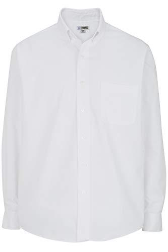 - Edwards Men's Lightweight Long Sleeve Poplin Shirt 6XL Tall White
