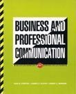 Business and Professional Communications, Curtis, Dan B. and Floyd, James J., 0673380955