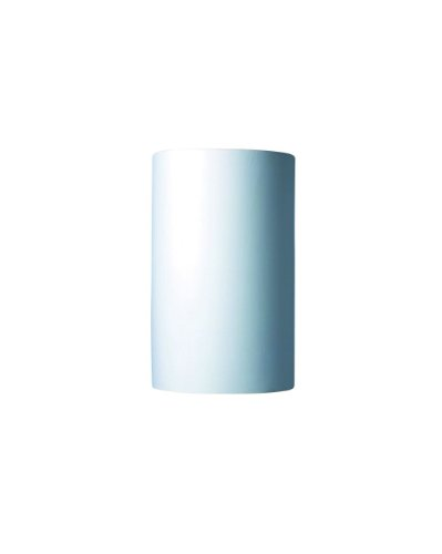 Justice Design Group Glass Sconce - Justice Design Group Lighting CER-1320-BIS Wall Sconce with Ceramic Bisque Shades, White