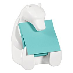 Post-it Pop-up Notes Dispenser for 3 in x 3 in Notes, Includes Black and White Brocade Insert ()