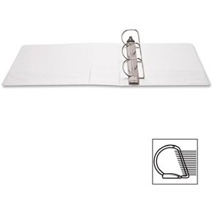Value Pack of 6 Each White View Binders, Letter Size, 8.5 X 11, D-ring (4'')