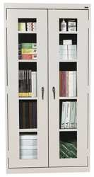 Capacity Clear View Storage Cabinet - 6