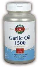 KAL Garlic Oil 2000 Softgels, 250 Count Review