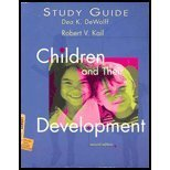 Children and Their Development, Kail, 0130894141