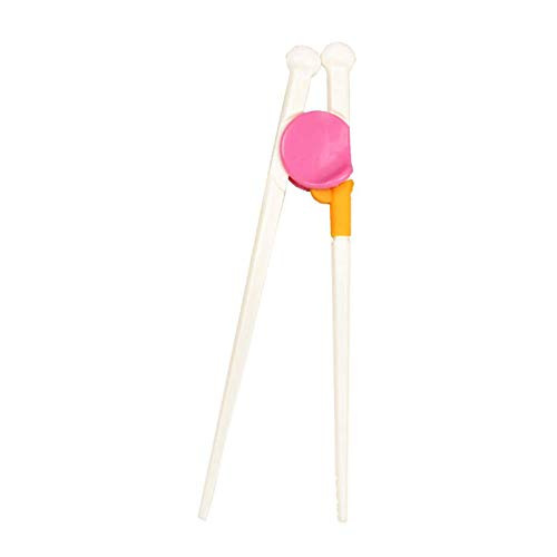 Electomania Easy to Use Cute Non toxic Plastic Training Chopsticks for Children (approximately Length 6.29 Inch, Multicolour) Price & Reviews