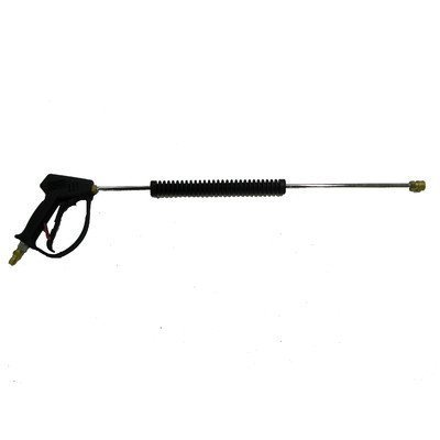 Vented Pressure Washing Gun Kit with 36'' Chrome Plated Steel Molded Lance Assembly by MTM