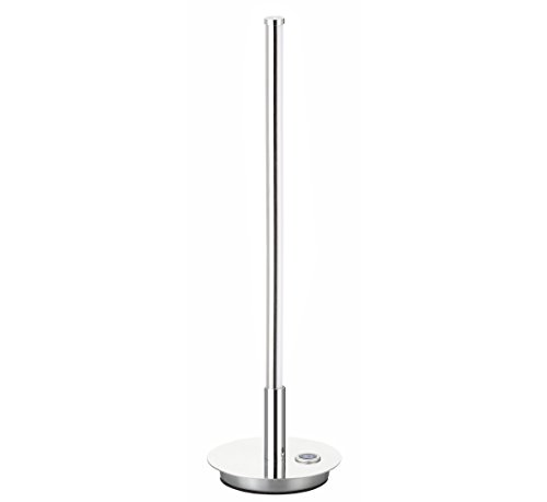 JONATHAN Y JYL7002A Keira Led Integrated Table Lamp, 16.5, Chrome