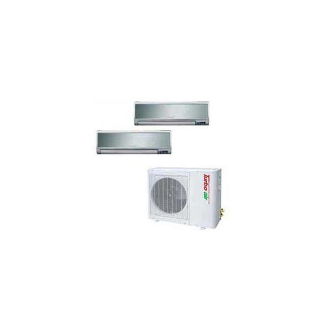Turbo Air Ductless Mini Split Air Conditioner Tas 21mvhn/O   21000 Btu Cool Btu Heat