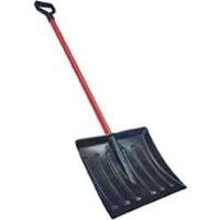 "HBC Lightweight & Durable 48"" long 17"" Wide Poly Snow Shovel & Pusher with Steel Handle"