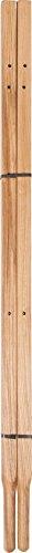 The AMES Companies, Inc 00221400A Wood Wheelbarrow Replacement Handles, 60-Inch by The AMES Companies, Inc