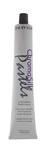 Pravana Chromasilk Pastels Long Lasting Color, Luscious Lavender Hair Color for Unisex, 3 Ounce