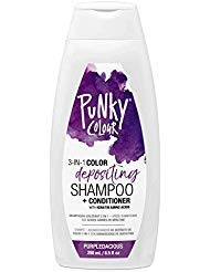 - Punky Purpledacious 3-in-1 Color Depositing Shampoo & Conditioner with Shea Butter and Pro Vitamin B that helps Nourish and Strengthen Hair, 8.5 oz