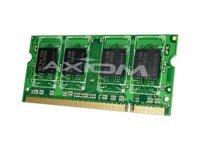 Axiom AX - DDR2-2 GB - SO-DIMM 200-pin - 667 MHz / PC2-5300 - unbuffered - Non-ECC - for Dell Precision Mobile Workstation M4300, M6300, M65, Vostro 1200, 1310, 15XX, 17XX, 2510