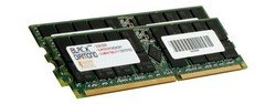 (2GB 2X1GB Memory RAM for SuperMicro X5 Series X5DLR-8G2 Black Diamond Memory Module 184pin PC2100 266MHz DDR ECC Registered RDIMM Upgrade)