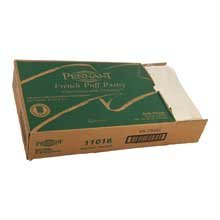 Pennant Foods Puff Pastry Dough Sheet, 26.6 Ounce -- 9 per case.