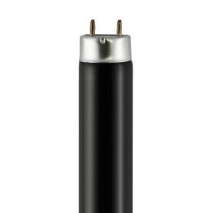 (10 Pack of QTX 2ft (590mm) 18w T8 Black Light Blue/Ultraviolet Fluorescent Tube)