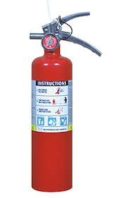 Victory 2 1/2 Lb. Type ABC Dry Chemical Fire Extinguisher, with 1 - Vehicle Bracket by Type ABC Dry Chemiclal Extinguisher (Image #5)