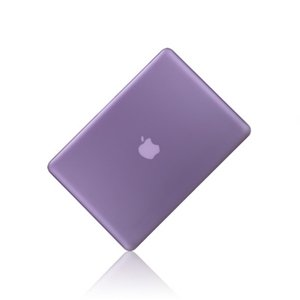 """TOP CASE - 2 in 1 - Ultra Slim Light Weight Rubberized Hard Case Cover and Keyboard Cover for Old Generation Macbook Pro 13-inch 13"""" (A1278/with or without Thunderbolt) - Purple"""