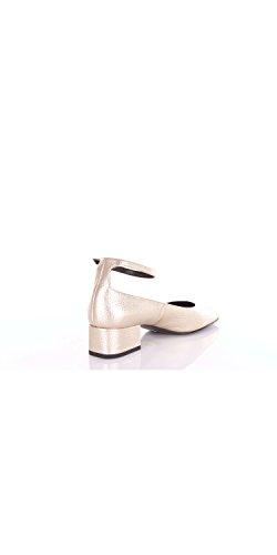 Saint Laurent 457646dtynn Chaussures Classiques Platine Dames