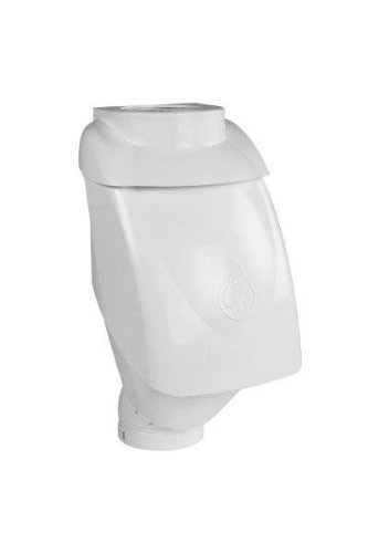 Rain Harvesting Pty Ltd RHUL98 Leaf Eater Ultra Rain Head- 4 in. Round