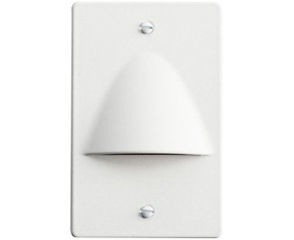 Kichler 12667WH Step and Hall 120V LED Step Light Non-Dimmable, White
