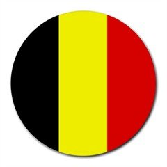 Belgium Flag Round Mouse Pad Mouse Mat Amazon Co Uk