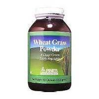 Pines Wheat Grass Powder, 3.5 Ounce -- 3 per case. (Grass Pines Wheat Powder)