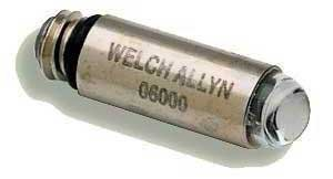 Welch Allyn 06000-U6 Replacement Halogen Hex Lamp for 60813, 60814 and 60713 Laryngoscope Handles, 2.5V (Pack of 6)