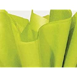Brand New Chartreuse Celery Green Bulk Tissue Paper 15 Inch x 20 Inch - 100 Sheets