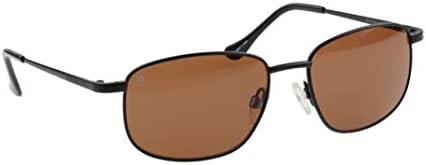 SERENGETI Monreale Gafas de Sol Medio Tamaño, Negro Mate, Drivers ...
