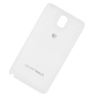 Original AT&T White Battery Door Back Cover For Samsung Galaxy Note 3 SM-N900A (3 Back Cover Battery Door)