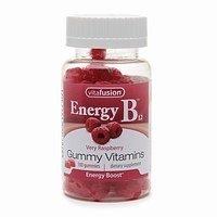 Vitafusion énergie B12 Très Framboise - 500 mcg - 100 Gummies