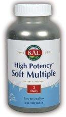 High Potency Soft Multiple 240 Softgel (with Beta Carotene) - Kal