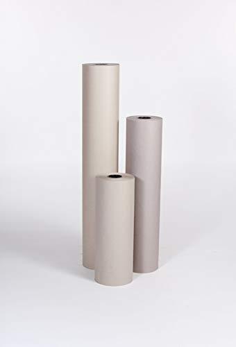 The Packaging Wholesalers 24″ 60# Grey Bogus Kraft Paper Roll (PKPB2460)