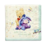 Paper Baby Days Lunch Napkins (Poohs Baby Days Shower)