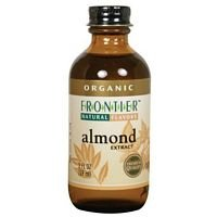 Frontier Herb Organic Almond Extract, 2 Ounce - 6 per case -