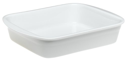 Pillivuyt Porcelain Heavy-Duty Medium 11-1/2-by-9-1/2-Inch Lasagne Baker