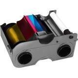 FARGO 45010 Fargo 45010 Ribbon Cartridge - YMCKOK - Thermal Transfer Dye Sublimation - 200 Card
