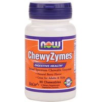 Now Foods ChewyZymes – 90 Chewables ( Multi-Pack)