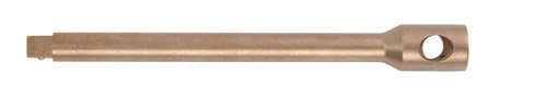 Ampco Safety Tools WE-1/2X3 Bar, Extension, Non-Sparking, Non-Magnetic, Corrosion Resistant, 1/2