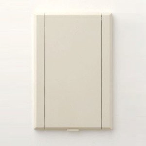 Full Door Central Vacuum Inlet in Almond Bisque Color CVC Inc.