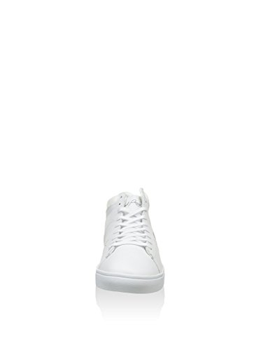 Fred Spencer Wmns Blanc Cuir Blanc Perry Milieu Perry Fred 11wUv4qg