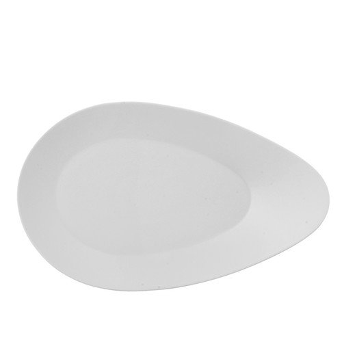 Rosenthal Free Spirit White Porcelain Gourmet Oval Plate - Rosenthal Free Spirit White Porcelain