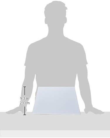 40,5 x 24 cm rechteckig glatt Better /& Best 5X24 Lampenschirm aus Baumwolle Wei/ß