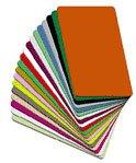 Zebra Card Category A 104523 111 5Pks Of 100 Premier Pvc Cards 30Mil For Zebra Card Printers