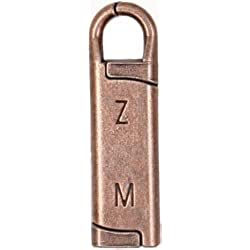 Bulk Buy: Zipper Mend Antique Brass (6-Pack)