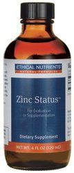 Zinc Status - Ethical Nutrients - 120ml - Liquid