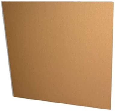 400 Sheets Corrugated Cardboard 100 x 100 cm Single Channel Cardboard Iron Thickness 2 mm.