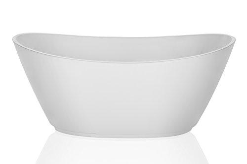Empava 69'' Luxury Bathroom Series Acrylic Freestanding Bathtub Contemporary Soaking SPA Tub EMPV-FT1603 by Empava (Image #2)