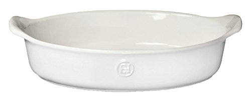 Emile Henry 239029 HR Ceramic Individual Oval Baker, Sugar (Individual Oval Baking Dishes)